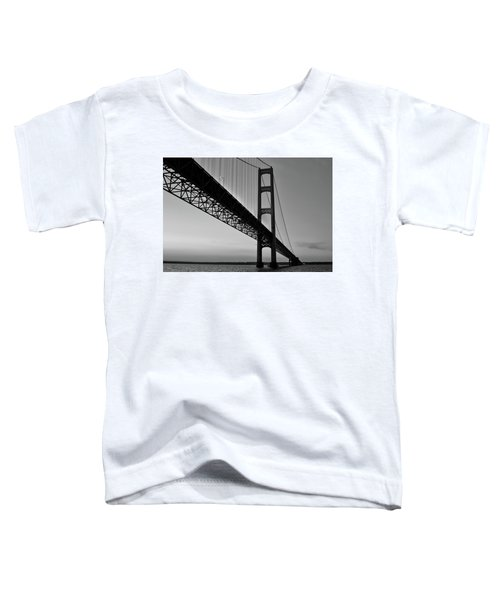 Mackinac Bridge At Sunset Toddler T-Shirt