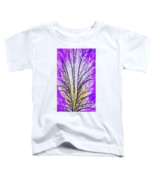 Macro Iris Petal Toddler T-Shirt