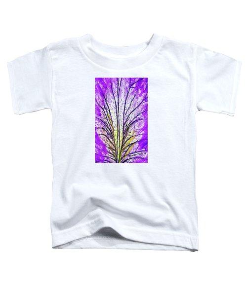 Macro Iris Petal Toddler T-Shirt
