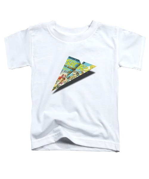 1973 Sick Mad Paper Airplanes Toddler T-Shirt