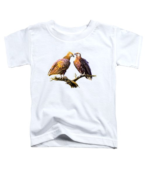 Madagascar Fish Eagle  Toddler T-Shirt by Anthony Mwangi