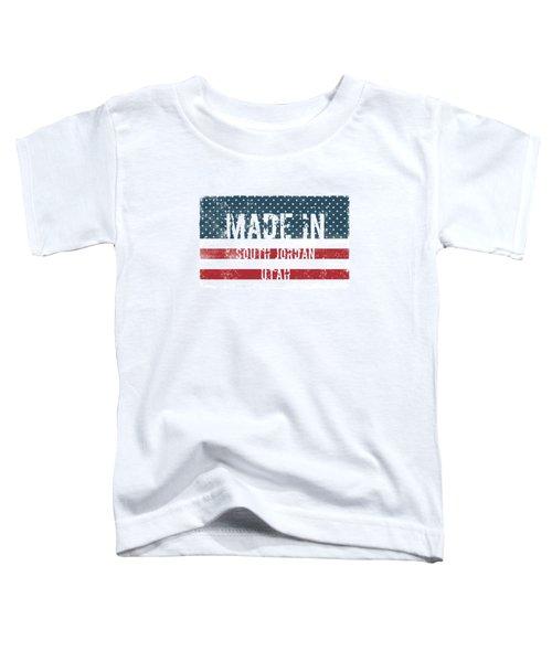 Made In South Jordan, Utah Toddler T-Shirt