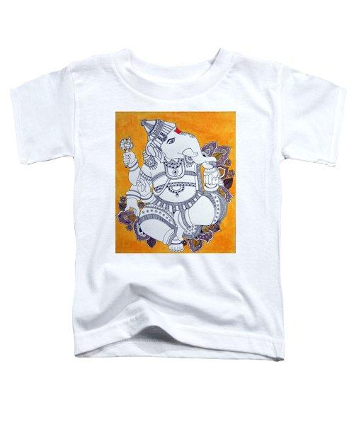 Madhubani Ganesh 4 Toddler T-Shirt