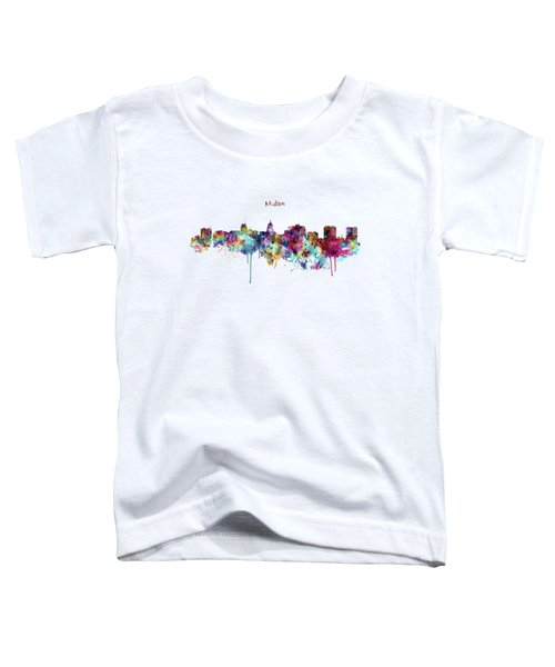 Madison Skyline Silhouette Toddler T-Shirt