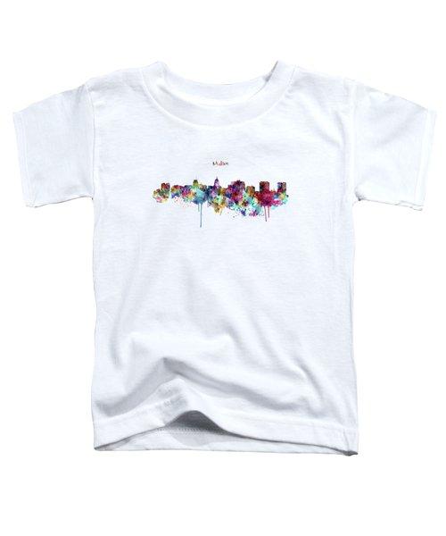 Madison Skyline Silhouette Toddler T-Shirt