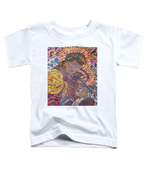 Madonna And Child The Sacred And Profane Toddler T-Shirt