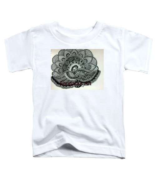 The Magnificent Peacock Toddler T-Shirt