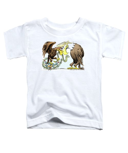Maga Vs Mexico Toddler T-Shirt