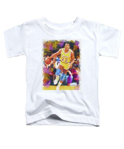 Magic Johnson Toddler T-Shirt