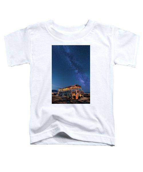 Magic Milky Way Bus Toddler T-Shirt