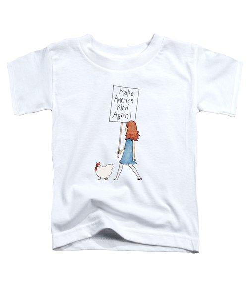 Make America Kind Toddler T-Shirt