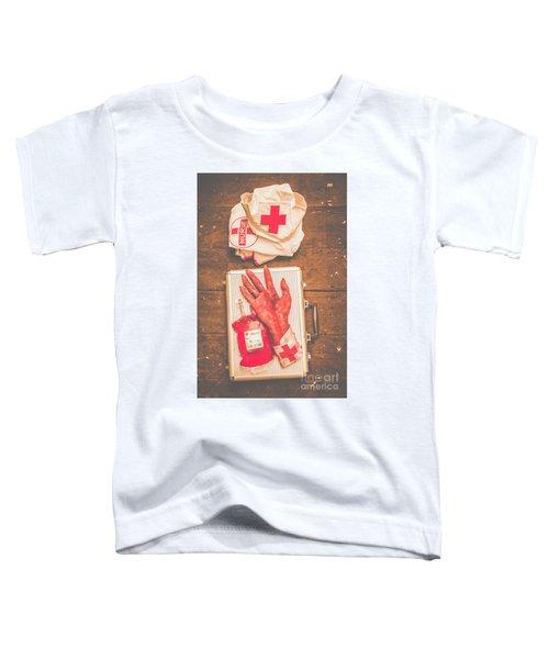 Make Your Own Frankenstein Medical Kit  Toddler T-Shirt