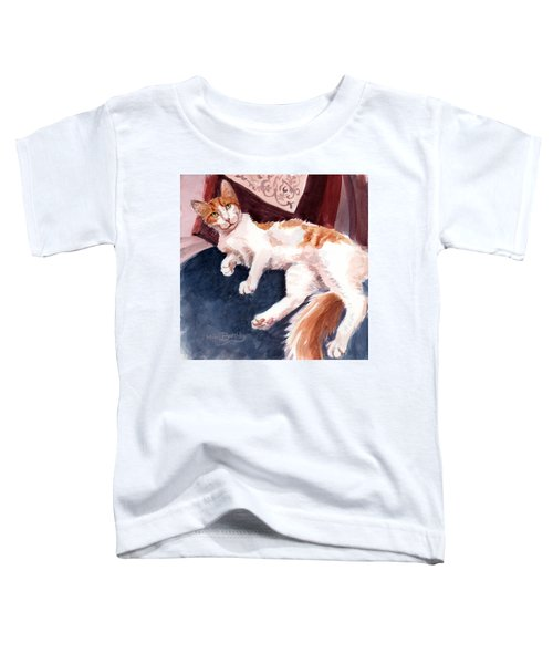 make yourself at home - Mr Fox Toddler T-Shirt