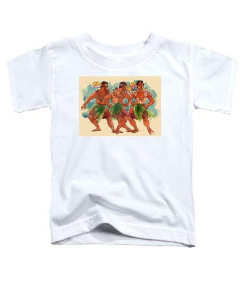 Male Dancers Of Lifuka, Tonga Toddler T-Shirt