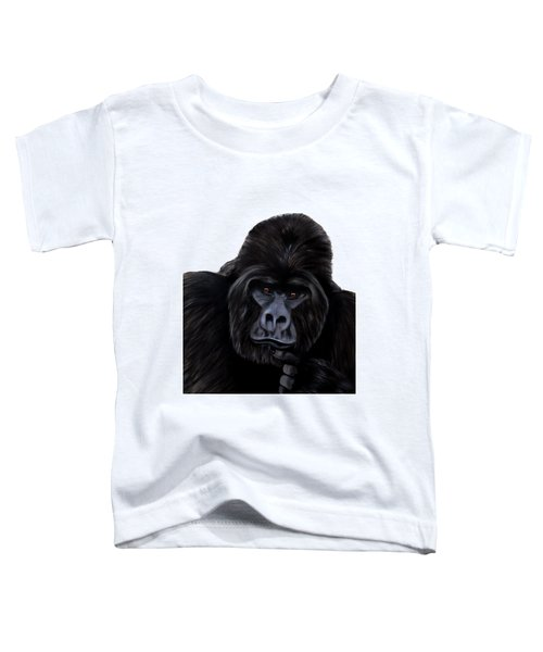 Mammals Gorilla Toddler T-Shirt