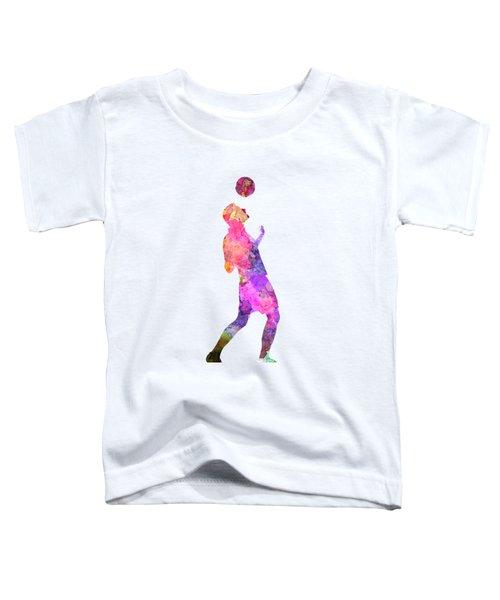 Man Soccer Football Player 06 Toddler T-Shirt