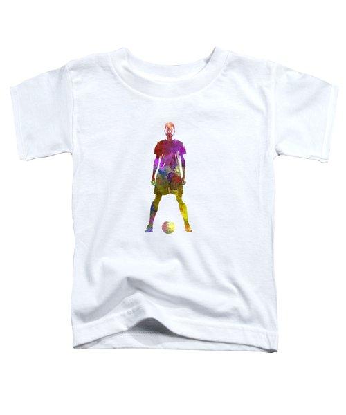 Man Soccer Football Player 11 Toddler T-Shirt