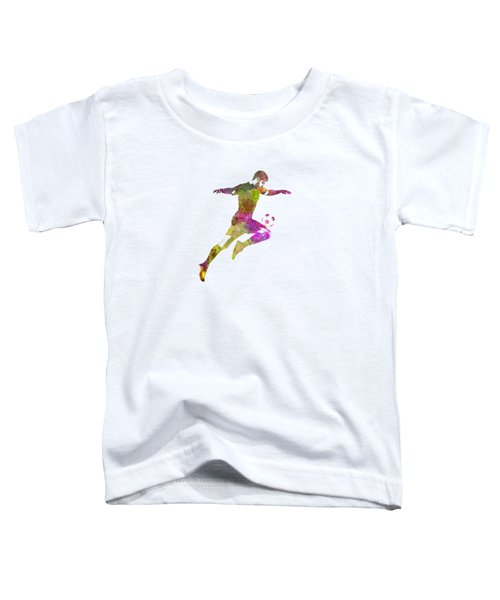 Man Soccer Football Player 12 Toddler T-Shirt by Pablo Romero