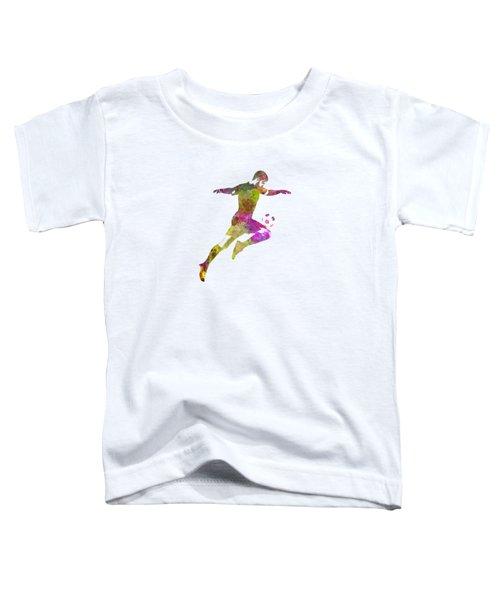 Man Soccer Football Player 12 Toddler T-Shirt