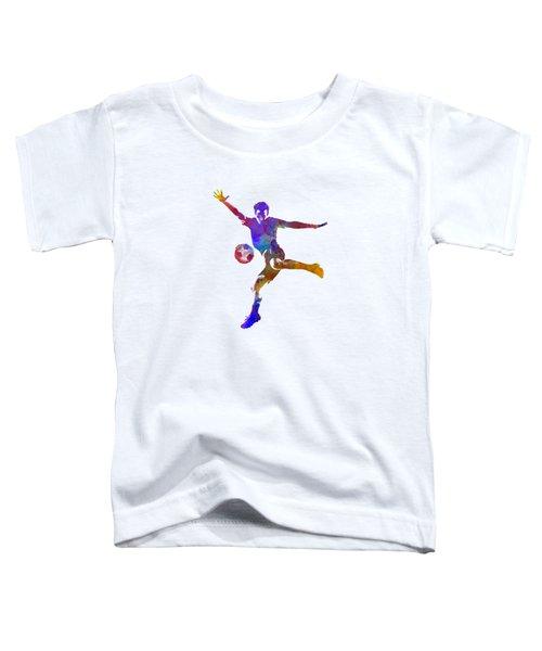 Man Soccer Football Player 14 Toddler T-Shirt