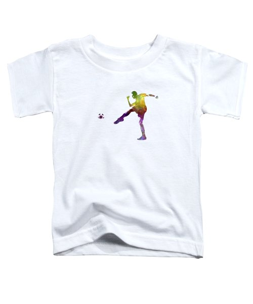 Man Soccer Football Player 15 Toddler T-Shirt by Pablo Romero