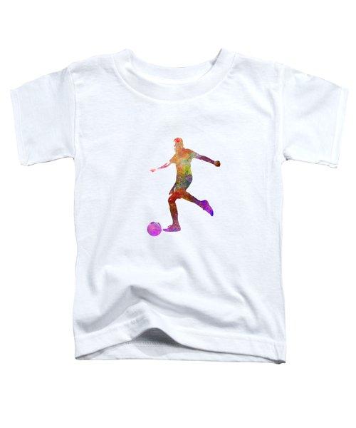Man Soccer Football Player 16 Toddler T-Shirt