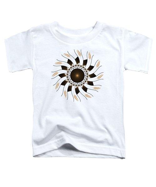 Mandala Black And Gold Toddler T-Shirt