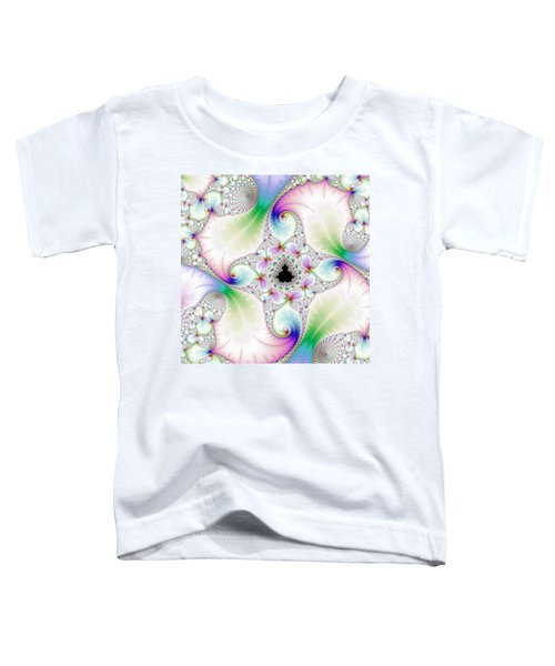 Mandebrot In Pastel Fractal Wonderland Toddler T-Shirt