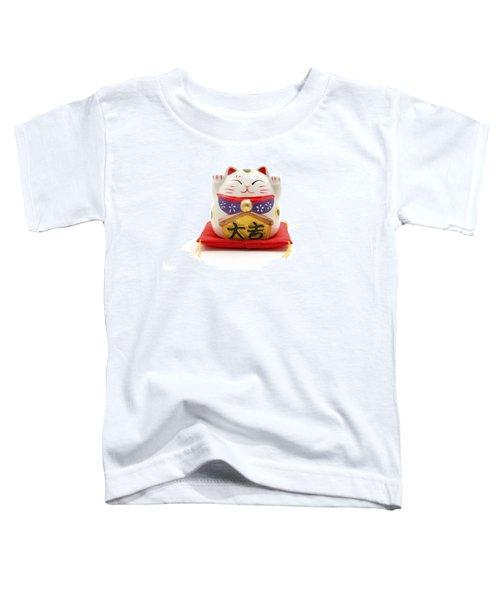 Maneki Neko Toddler T-Shirt