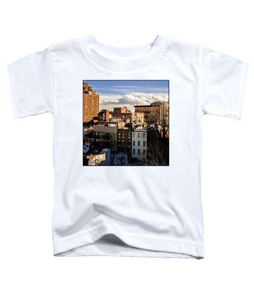 Manhattan From The Whitney Toddler T-Shirt