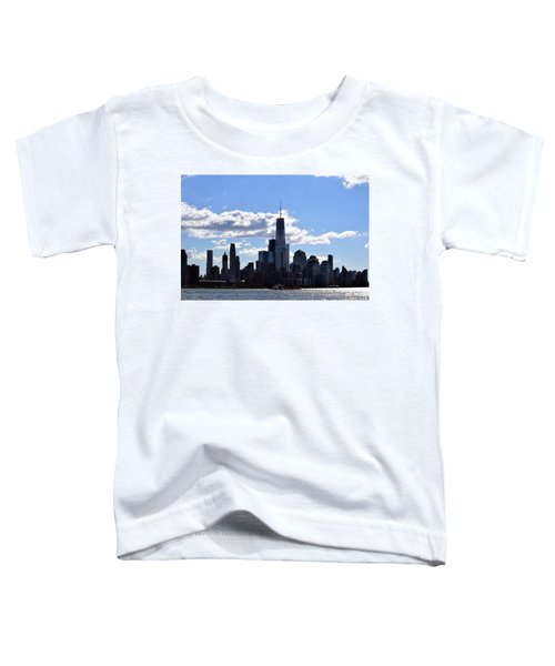 Manhattan Skyline No. 17-1 Toddler T-Shirt by Sandy Taylor