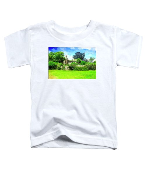Mansion And Gardens At Harkness Park. Toddler T-Shirt