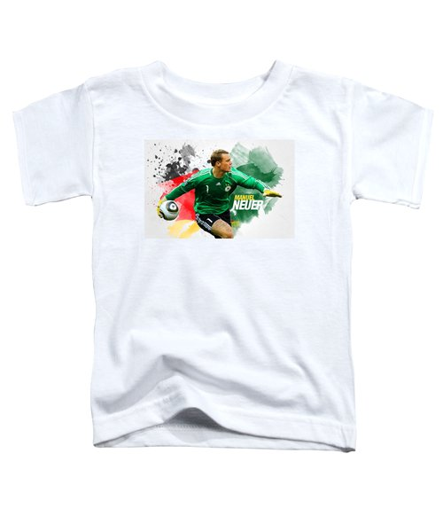 Manuel Neuer Toddler T-Shirt