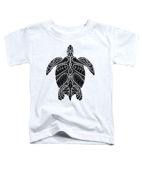 Maori Turtle Toddler T-Shirt