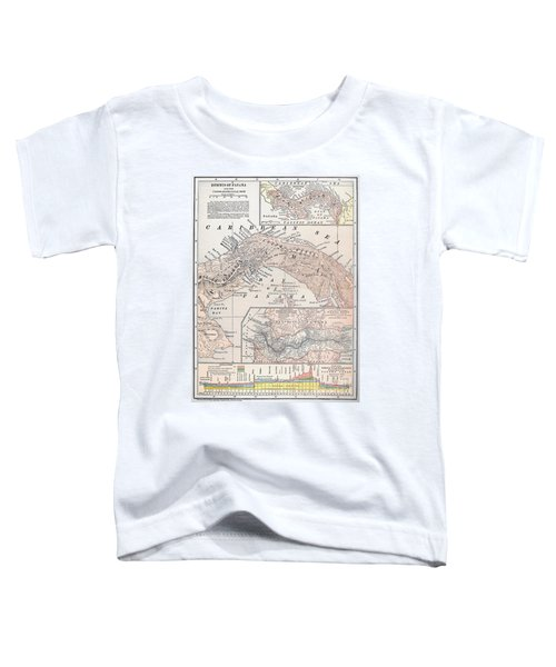 Map: Panama, 1907 Toddler T-Shirt