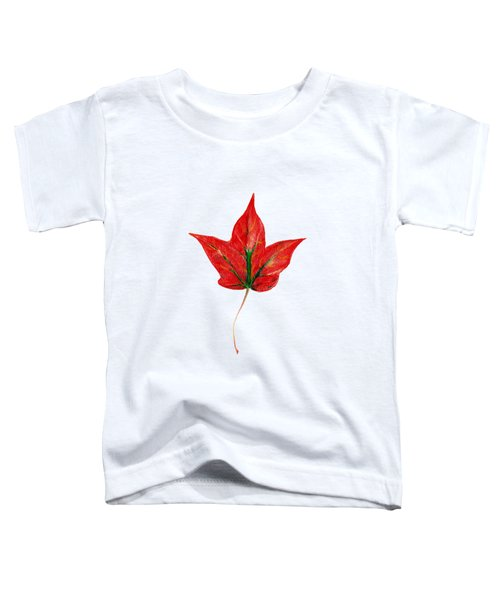 Maple Leaf Toddler T-Shirt