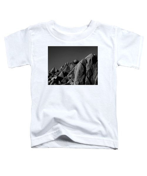 Marble Rock Formation B And W Version Toddler T-Shirt