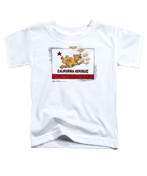 Marijuana Referendum In California Toddler T-Shirt