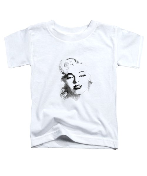 Marilyn  Toddler T-Shirt by John Barnard
