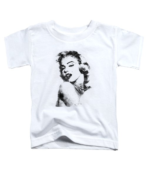 Marilyn Monroe Portrait 01 Toddler T-Shirt