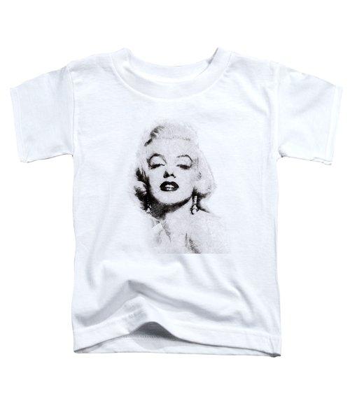 Marilyn Monroe Portrait 02 Toddler T-Shirt