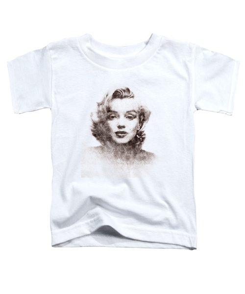 Marilyn Monroe Portrait 04 Toddler T-Shirt