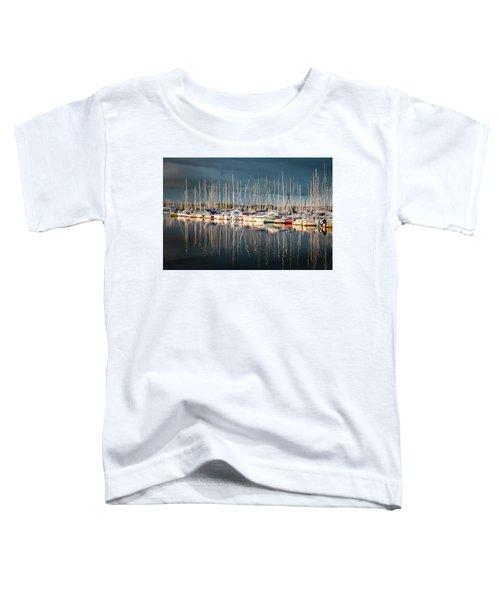 Marina Sunset 4 Toddler T-Shirt