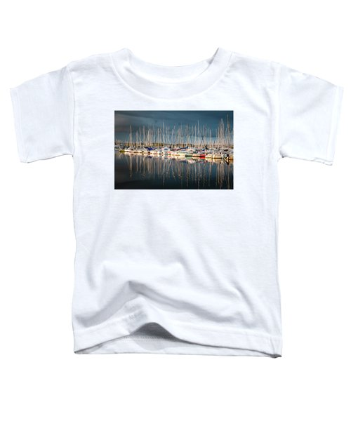 Marina Sunset 4 Toddler T-Shirt
