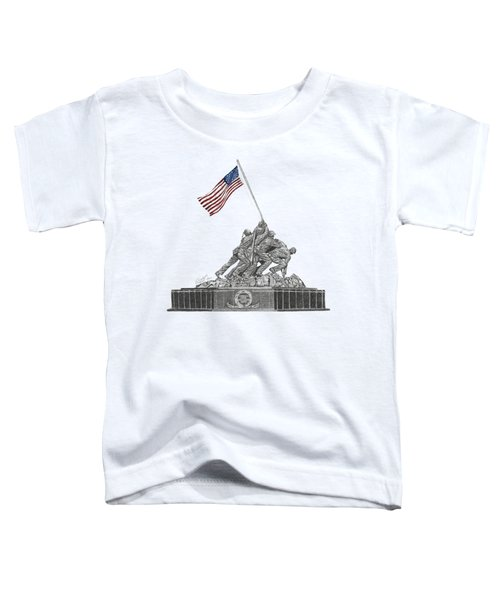 Marine Corps War Memorial - Iwo Jima Toddler T-Shirt