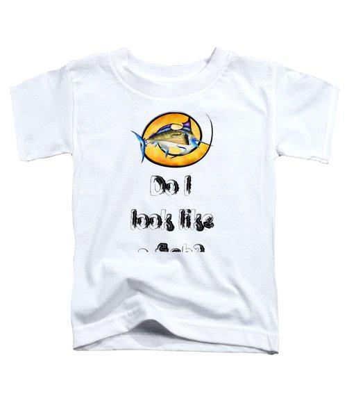 Marlinissos V1 - Violinfish With Text Toddler T-Shirt
