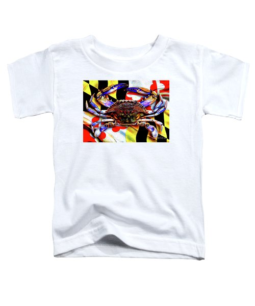 Maryland Blue Crab Toddler T-Shirt