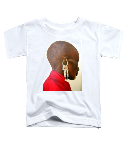 Masai Woman - Original Artwork Toddler T-Shirt