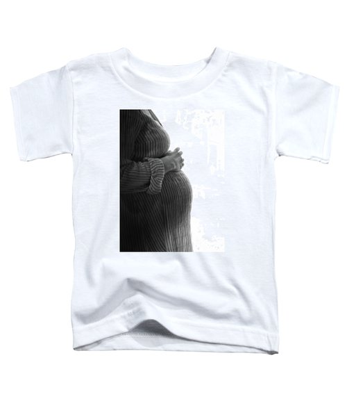 Maternity Silhouette Toddler T-Shirt