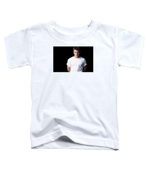 Matt Damon Toddler T-Shirt by Iguanna Espinosa